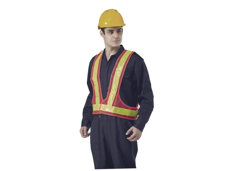 High Visibility Vest With LED